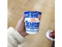 닛신 담백한 컵누들 시푸드 맛