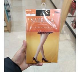 군제 SABRINA warm stocking 블랙 L~LL